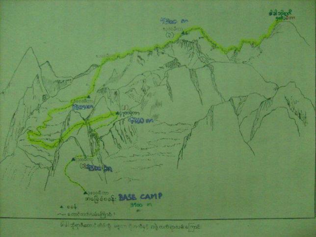 sketch map
